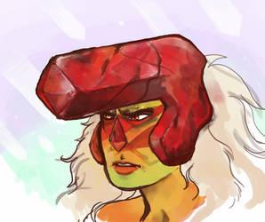 Jasper sketch by spectralunicorn