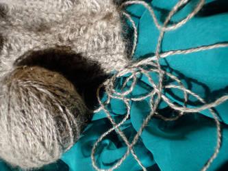 Fluffy, Foggy Alpaca by fabular-mrfox