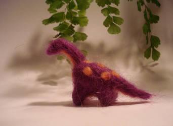 Reginald, Regal Brontosaurus by fabular-mrfox