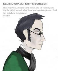 Quick Character Study: Elias Disraeli by fabular-mrfox