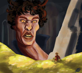 Bennedictcumbersmaug by Evylina