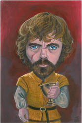 Tyrion Fan art by Evylina