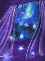 Window to the Universe by Evylina