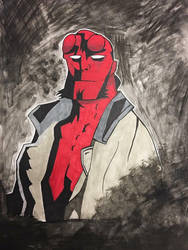 Hellboy by NemesisXIII