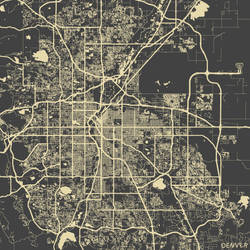 Denver by MapMapMaps
