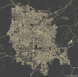 Las Vegas by MapMapMaps