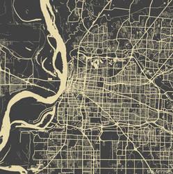 Memphis by MapMapMaps