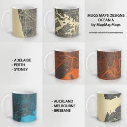 MAPS MUGS by MapMapMaps