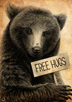 Free hugs by IntoTheBear