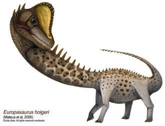 Europasaurus holgeri by Sputatrix
