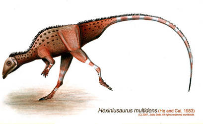 Hexinlusaurus multidens by Sputatrix