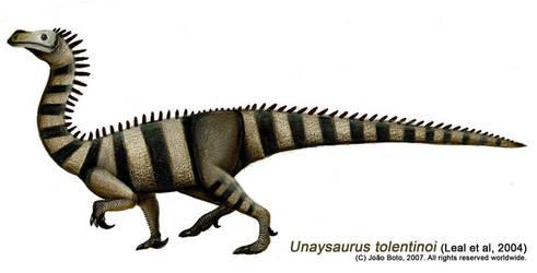 Unaysaurus tolentinoi by Sputatrix
