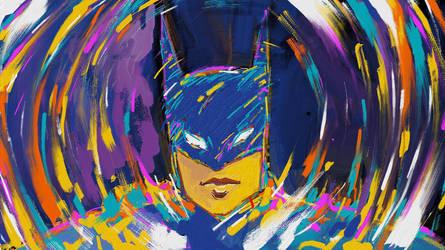 Batman Pop Art by naugthy-devil