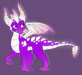Fairy Kiss Spyro by VDragon-Creations