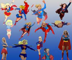 Supergirl (Kara Zor-El and Matrix) by masterstark