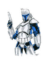 Color Me Book - Jango Fett by losisthemost