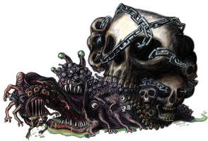 Snail Creature by FrankieSmileShow