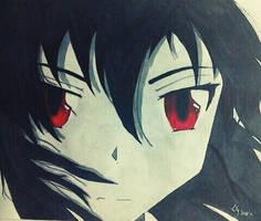Akame from Akame ga kill   Fan art by Twist-of-Fate-Art