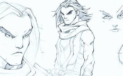 Sketch by IsaiasSantillan