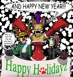 Purrfect Holidays by MrBuckalew