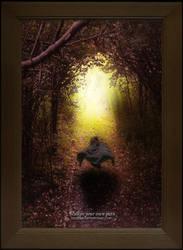 Walkin your own path... by Joker84