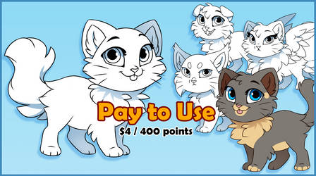 Pay to Use :: Cat Base 2017 by Kamirah