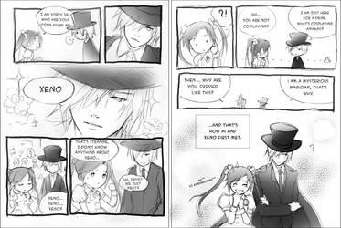 AX: How They Met... II by zeldacw