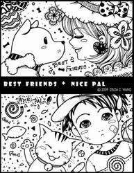Best Friends + Nice Pal by zeldacw