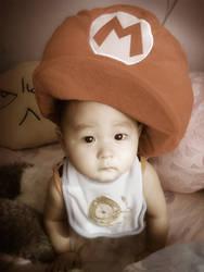 Baby Mario by zeldacw