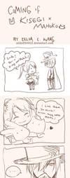 AX story: Kisegi x Mahoko by zeldacw