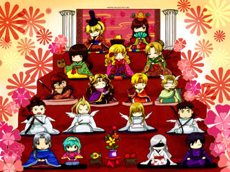 MYth Hinamatsuri Dolls by zeldacw