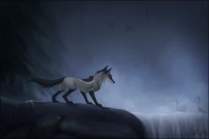 Fishing in the Mist by Fireshrike