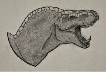 T-rex by Ignis-Corvus