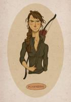 Katniss by hooraylorraine