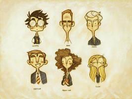 Neville, Chosen One Characters by hooraylorraine