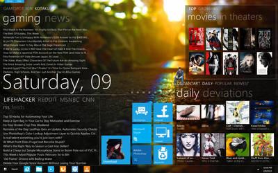 Newest Desktop Screenshot of February 2013 by SIRSENDUDUTTA
