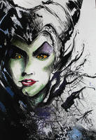 [Unoriginal] Maleficent by AlaaNosair