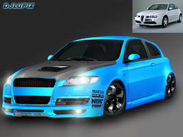 First virtual tuning Alfa 147 by djlupix