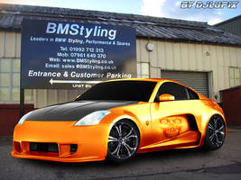 Nissan 350z Virtual Tuning by djlupix