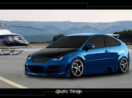 Ford Focus Virtual Tuning by djlupix