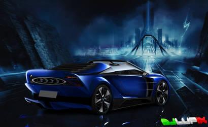 BMW I8 Virtual Tuning by djlupix