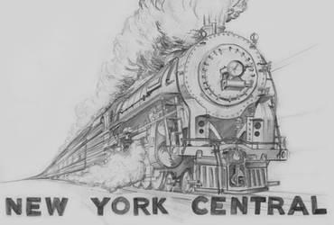 New York Central Hudson by B24LIBERATOR