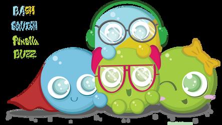 Pixiepot OCs by greenafire
