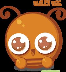 BUZZY BEE by greenafire