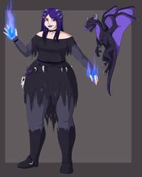 The Bone Sorceress by SpookyBjorn