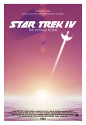 Star Trek IV: The Voyage Home poster by AbelMvada