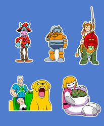 Stickers Power of Oz by cachacity