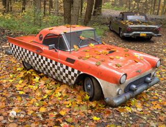 1950 Luxury Car Iray by joelegecko