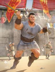dForce Orelius Gladiator Outfit for GEN8 Male by joelegecko