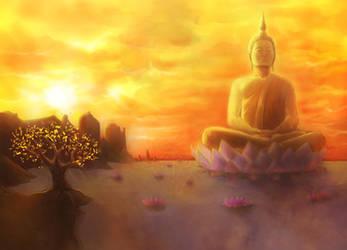 Lake Buddha by StereoiD